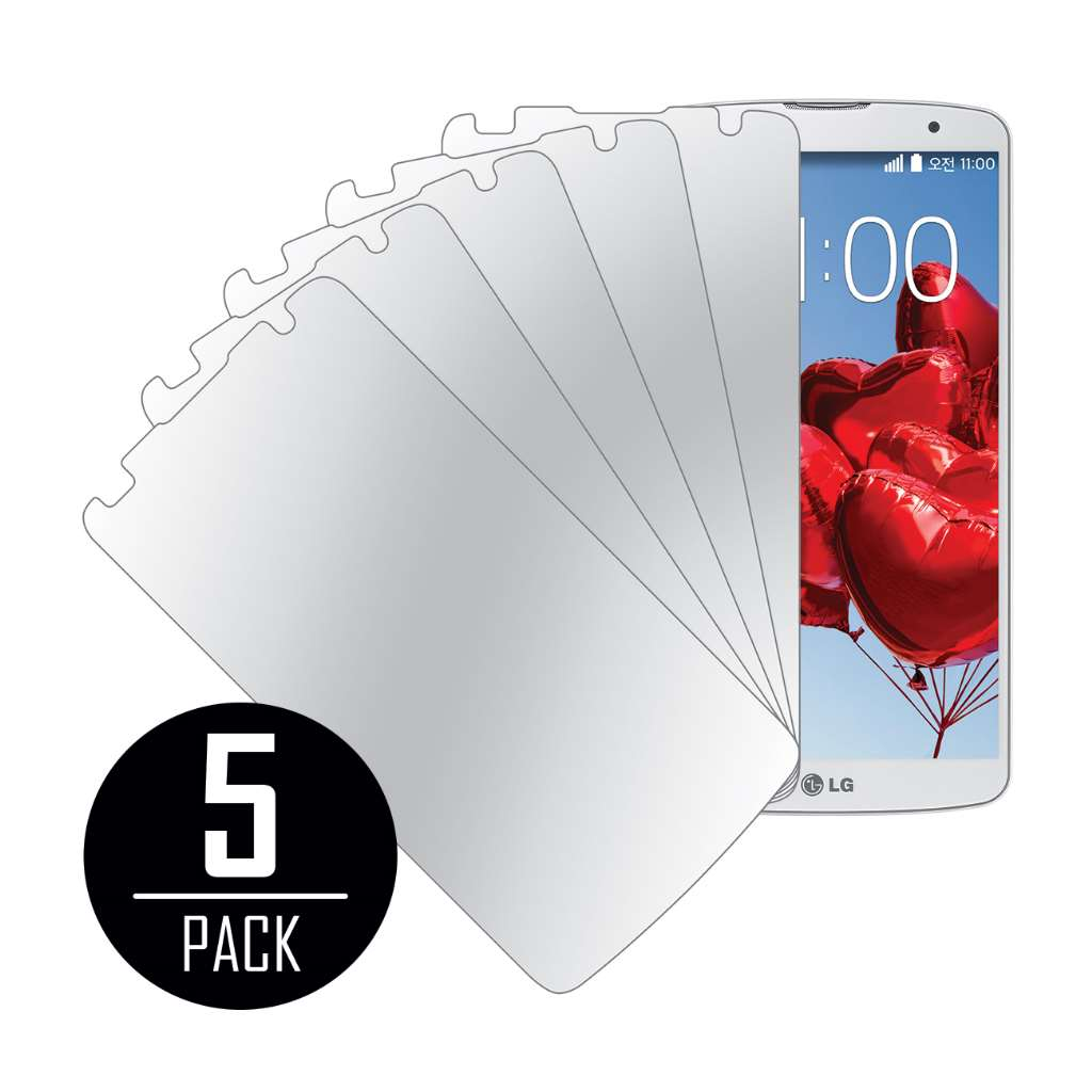 LG G Pro 2 MPERO 5 Pack of Mirror Screen Protectors