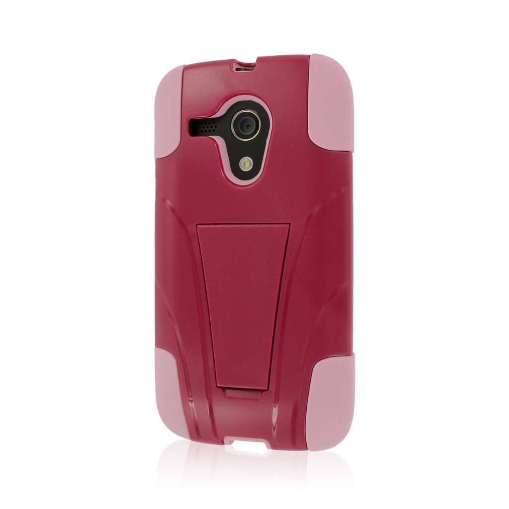 Motorola Moto G - Hot Pink / Pink MPERO IMPACT X - Kickstand Case Cover