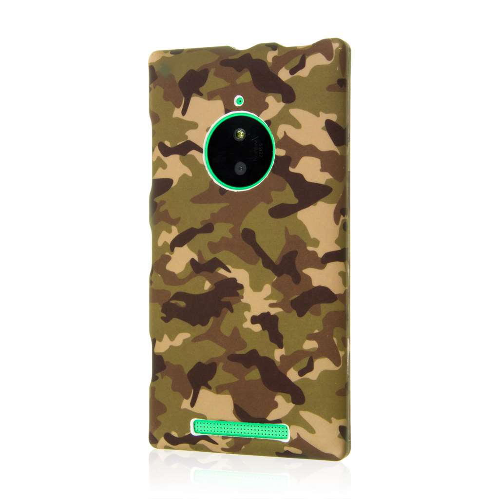 Nokia Lumia 830 - Green Camo MPERO SNAPZ - Case Cover