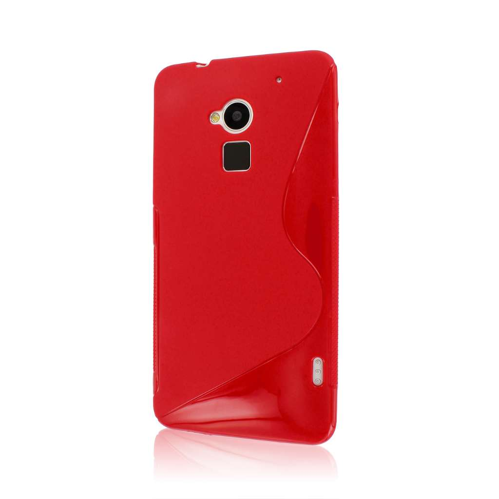 HTC One Max T6 - RED MPERO FLEX S - Protective Case Cover