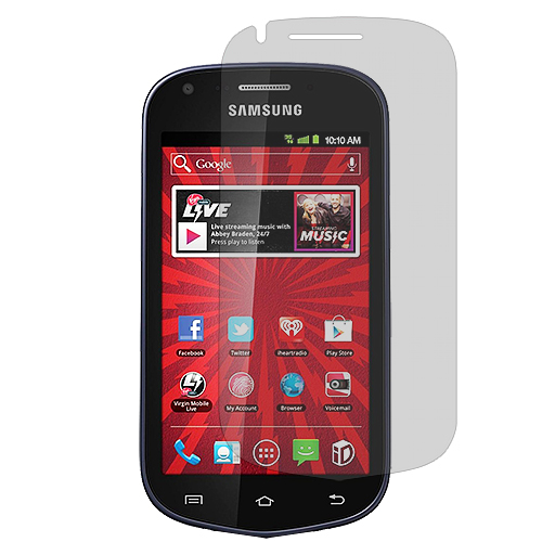 Samsung Galaxy Reverb M950 Clear LCD Screen Protector