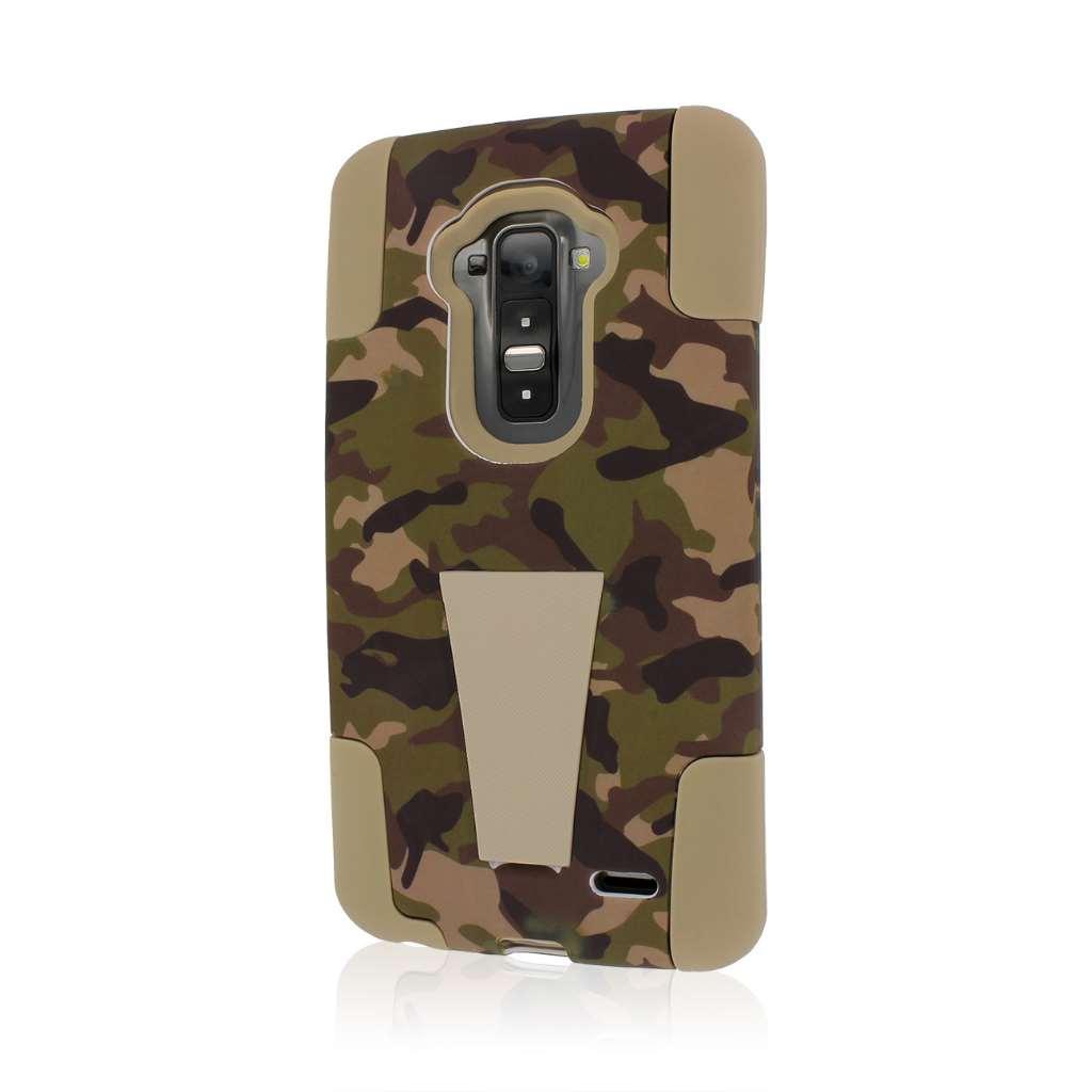 LG G Flex - Hunter Camo MPERO IMPACT X - Kickstand Case Cover