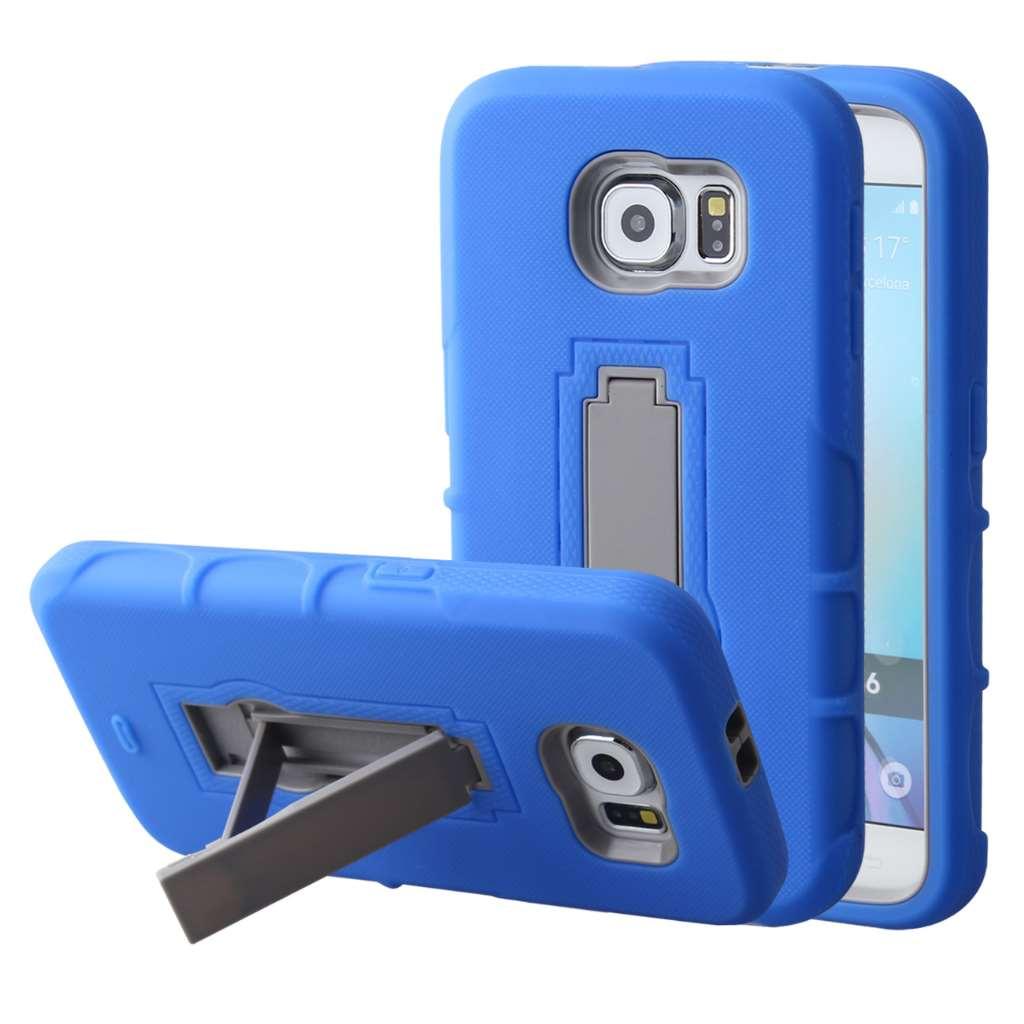 Samsung Galaxy S6 - Blue MPERO IMPACT XS - Kickstand Case Cover