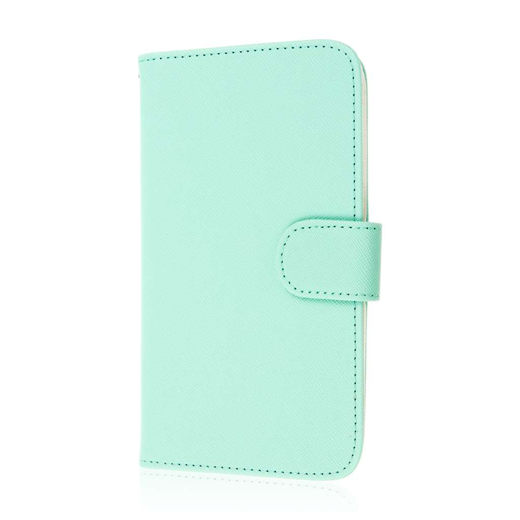 Google Nexus 6 - Mint MPERO FLEX FLIP Wallet Case Cover