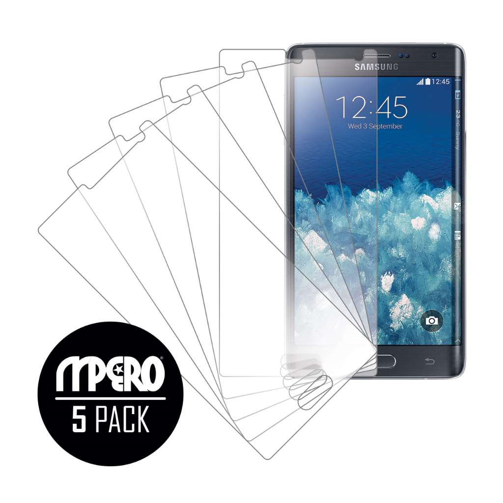 Samsung Galaxy Note Edge MPERO 5 Pack of Ultra Clear Screen Protectors