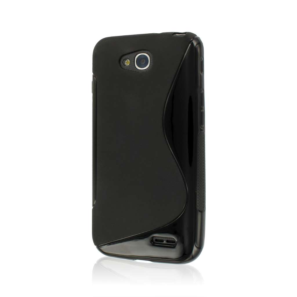 LG Optimus L90 - Black MPERO FLEX S - Protective Case Cover