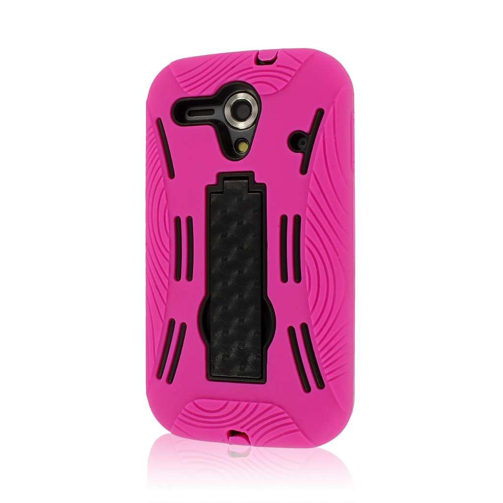 Kyocera Hydro EDGE C5215 - Hot Pink MPERO IMPACT XL - Kickstand Case Cover