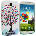 Samsung Galaxy S4 Love Tree TPU Design Soft Case Cover Angle 1