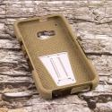 HTC One M9 - Hunter Camo MPERO IMPACT X - Kickstand Case Cover Angle 2