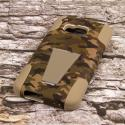 HTC One M9 - Hunter Camo MPERO IMPACT X - Kickstand Case Cover Angle 3