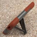 Alcatel OneTouch Fierce 2 - Sandstone / Gray MPERO IMPACT X - Kickstand Case Angle 4