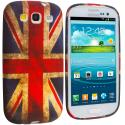 Samsung Galaxy S3 The Union Flag TPU Design Soft Case Cover Angle 1