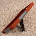 ZTE ZMAX - Sandstone / Gray MPERO IMPACT X - Kickstand Case Cover Angle 4