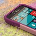 Samsung ATIV SE - Pink MPERO IMPACT X - Kickstand Case Cover Angle 5