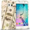 Samsung Galaxy S6 Money TPU Design Soft Rubber Case Cover Angle 1