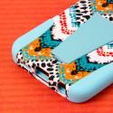 Samsung Galaxy S6 Edge - Aqua Safari MPERO IMPACT X - Kickstand Case Cover Angle 6