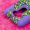 LG G Flex 2 - Purple Rainbow Leopard MPERO IMPACT X - Kickstand Case Cover Angle 6