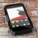 Alcatel OneTouch Evolve - Gray MPERO FUSION M - Protective Case Cover Angle 2