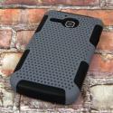 Alcatel OneTouch Evolve - Gray MPERO FUSION M - Protective Case Cover Angle 3