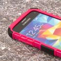 Samsung Galaxy S5 Mini - Hot Pink MPERO IMPACT SR - Kickstand Case Cover Angle 5