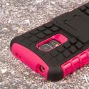 Samsung Galaxy S5 Mini - Hot Pink MPERO IMPACT SR - Kickstand Case Cover Angle 6