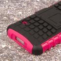 Samsung Galaxy S5 Mini - Hot Pink MPERO IMPACT SR - Kickstand Case Cover Angle 7