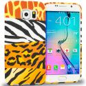Samsung Galaxy S6 Edge Mix Animal Skin TPU Design Soft Rubber Case Cover Angle 1