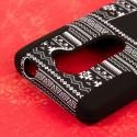 LG Leon - Black Aztec MPERO IMPACT X - Kickstand Case Cover Angle 6