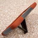 ZTE Max - Sandstone / Gray MPERO IMPACT X - Kickstand Case Cover Angle 4