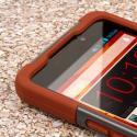 ZTE Max - Sandstone / Gray MPERO IMPACT X - Kickstand Case Cover Angle 5