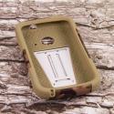 ZTE Zinger Z667 - Hunter Camo MPERO IMPACT X - Kickstand Case Cover Angle 2