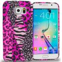 Samsung Galaxy S6 Bowknot Zebra TPU Design Soft Rubber Case Cover Angle 1