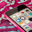 Apple iPhone 5C - Hot Pink MPERO SNAPZ - Glossy Case Cover Angle 4