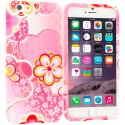 Apple iPhone 6 6S (4.7) Pink Fairy Tale TPU Design Soft Case Cover Angle 1