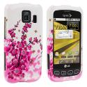LG Optimus S LS670 / U / V Spring Flowers Design Crystal Hard Case Cover Angle 1
