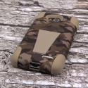 LG Optimus L90 - Hunter Camo MPERO IMPACT X - Kickstand Case Cover Angle 3