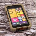 Nokia Lumia 530 - Hunter Camo MPERO IMPACT X - Kickstand Case Cover Angle 2