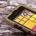 Nokia Lumia 530 - Hunter Camo MPERO IMPACT X - Kickstand Case Cover Angle 5