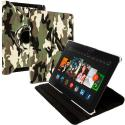 Amazon Kindle Fire HDX 8.9 Camo 360 Rotating Leather Pouch Case Cover Stand Angle 1