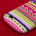 BLU Life Play - Aztec Fiesta MPERO SNAPZ - Rubberized Case Cover Angle 7