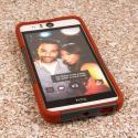HTC Desire EYE - Sandstone / Gray MPERO IMPACT X - Kickstand Case Cover Angle 2