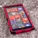 Nokia Lumia 1520 - Hot Pink MPERO IMPACT SR - Kickstand Case Cover Angle 2