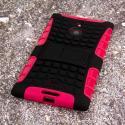 Nokia Lumia 1520 - Hot Pink MPERO IMPACT SR - Kickstand Case Cover Angle 3
