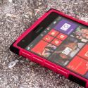 Nokia Lumia 1520 - Hot Pink MPERO IMPACT SR - Kickstand Case Cover Angle 5