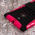 Nokia Lumia 1520 - Hot Pink MPERO IMPACT SR - Kickstand Case Cover Angle 6