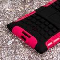 Nokia Lumia 1520 - Hot Pink MPERO IMPACT SR - Kickstand Case Cover Angle 7