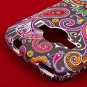 ZTE Concord 2 - Black Paisley MPERO SNAPZ - Case Cover Angle 6