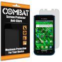 Samsung Vibrant SCH-T959 Combat 6 Pack Anti-Glare Matte Screen Protector Angle 1