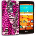 LG Volt 2 LS751 Bowknot Zebra TPU Design Soft Rubber Case Cover Angle 1