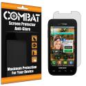 Samsung Fascinate i500 Combat 6 Pack Anti-Glare Matte Screen Protector Angle 1